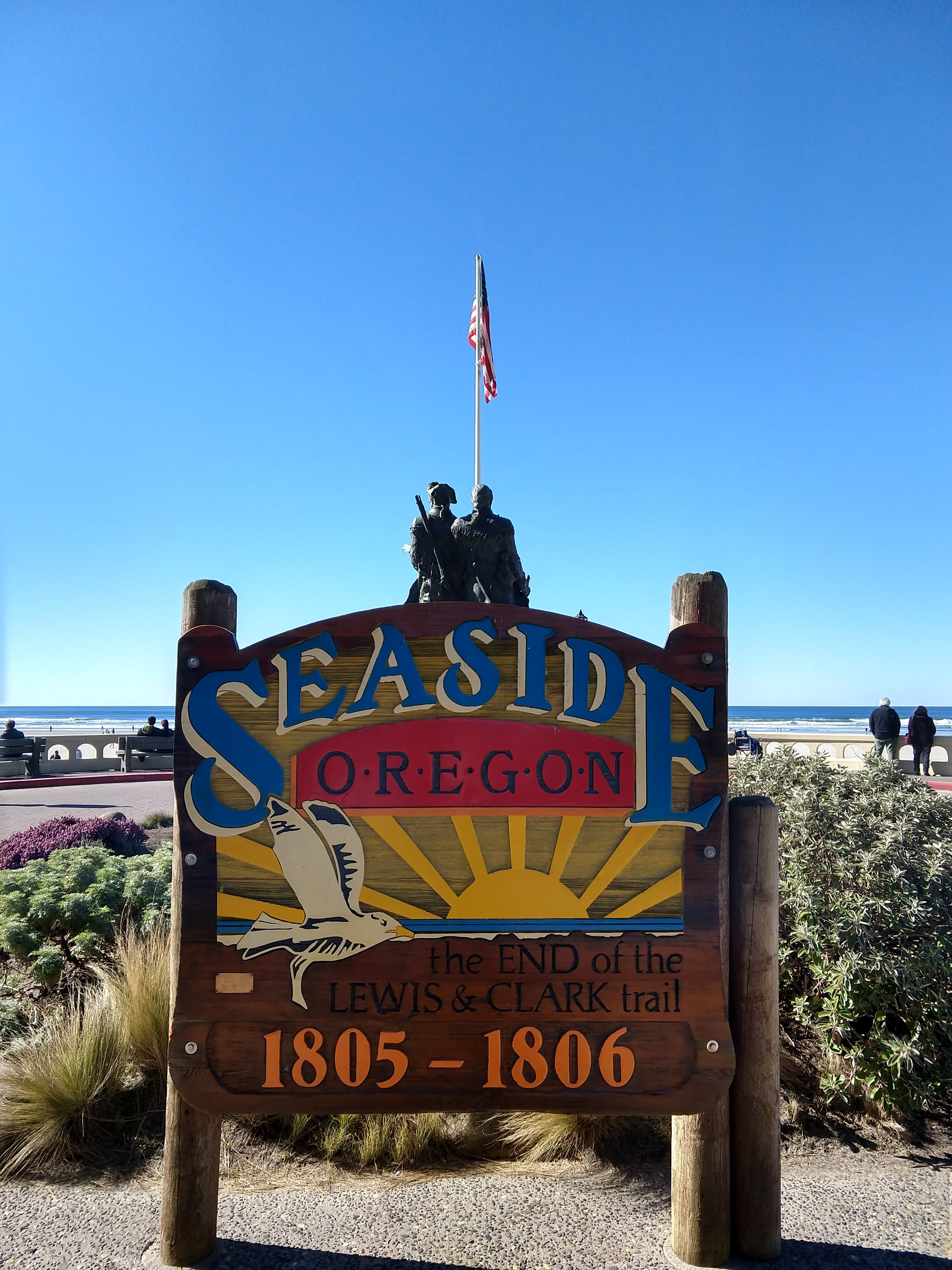 Seaside Sign